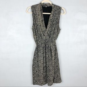 Collective Concepts Houndstooth Collared Dress